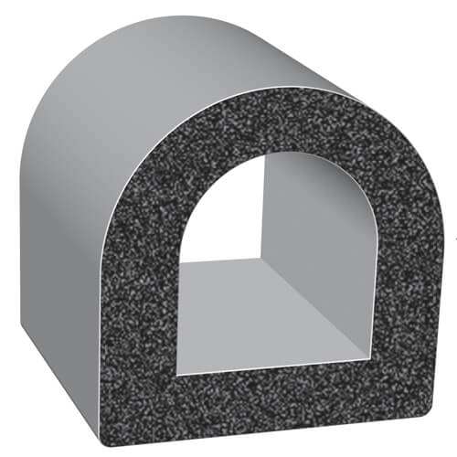 D-Profile Sponge Rubber Seals