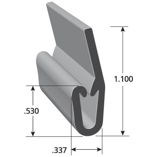 i11038 upholstery j clips trim lok. Black Bedroom Furniture Sets. Home Design Ideas