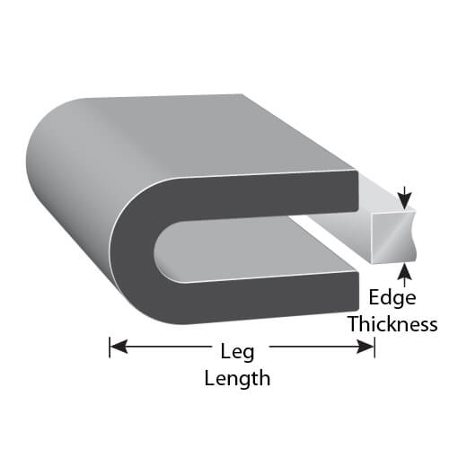Rubber Edge Trim And Edge Trim Molding Trim Lok