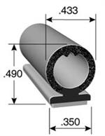 Co-Extruded Pedestal Bulb Seal