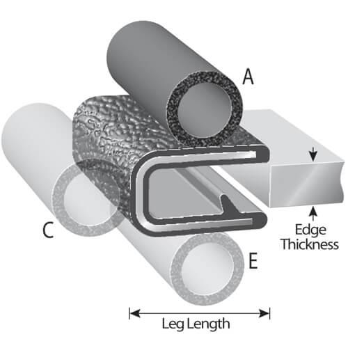 Rubber Trim-Seal Products | Trim-Lok